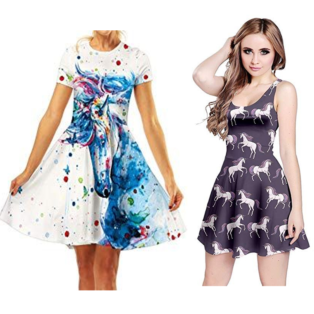 elegant-unicorn-inspired-dresses-for-women